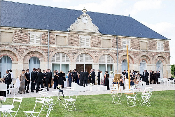 Château De Varennes wedding reception