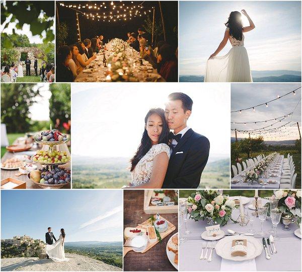 DIY Wedding in Provence Snapshot