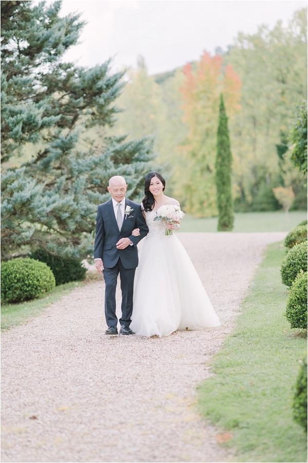 Dordogne elegant wedding