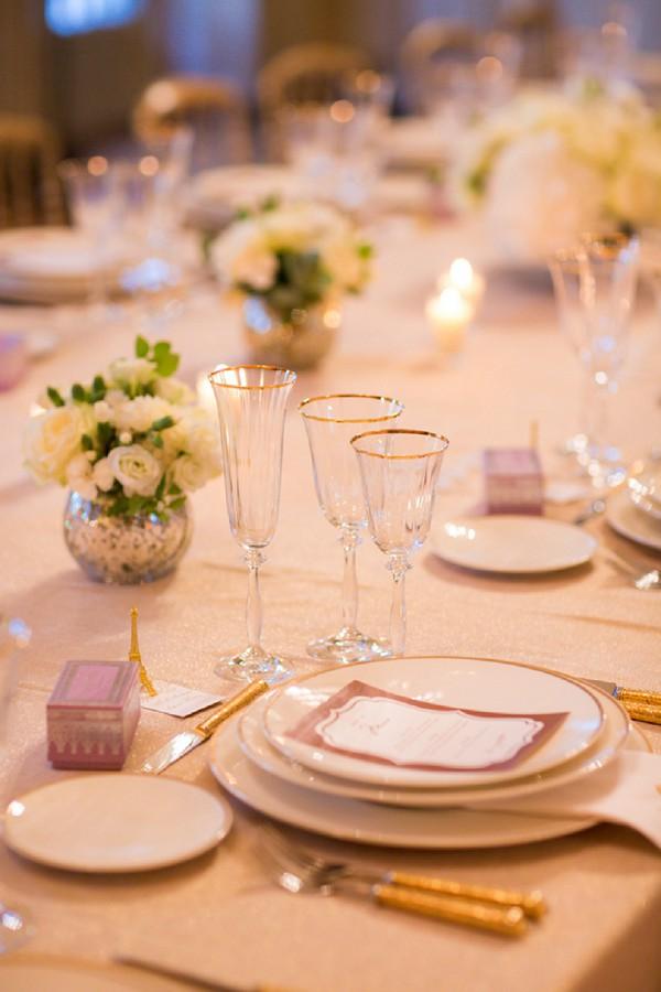 Elegant Paris mansion wedding
