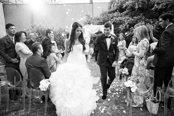 Fête in France wedding Paris