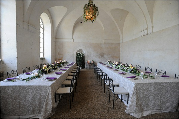 French Chateau wedding styling