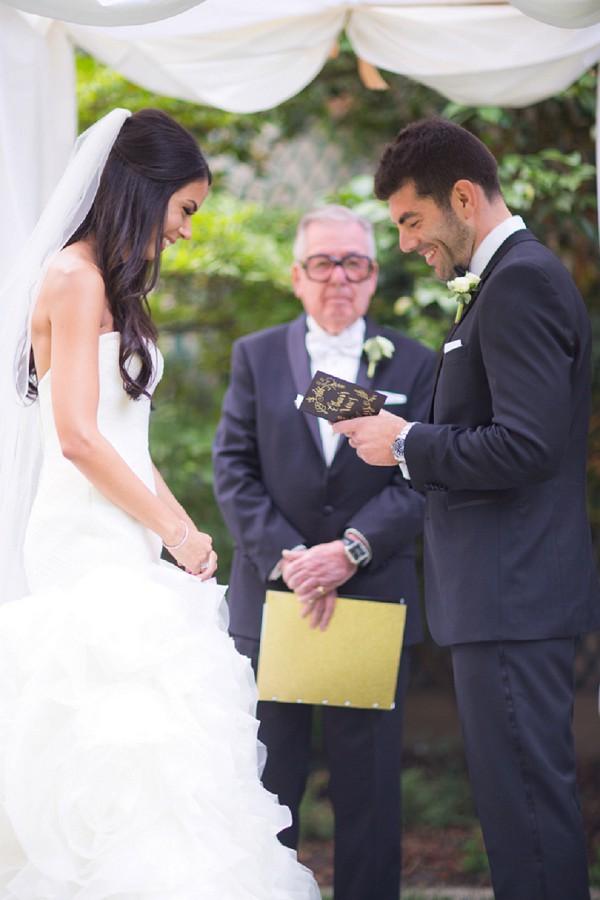 Grandfather wedding ceremony