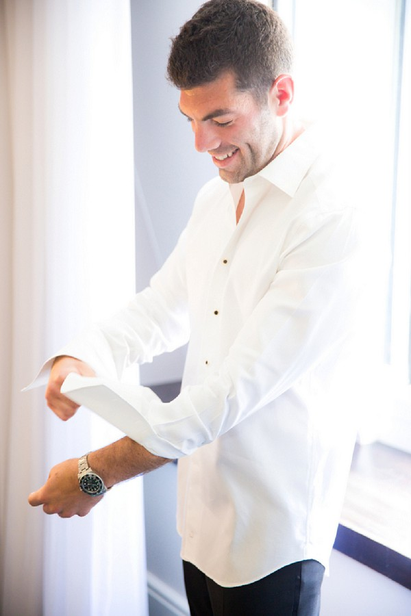 Groom prep and details