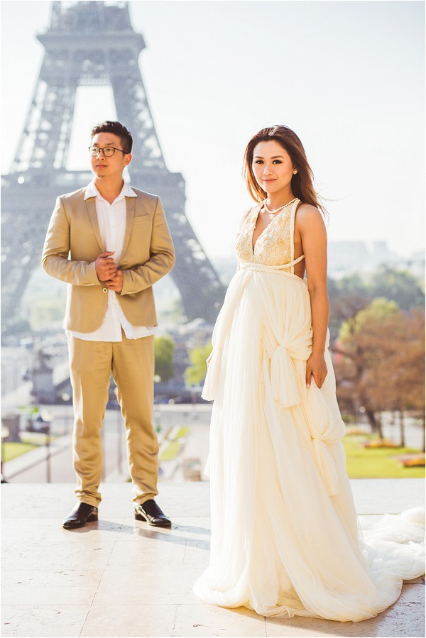 Indonesian inspired pre wedding dress