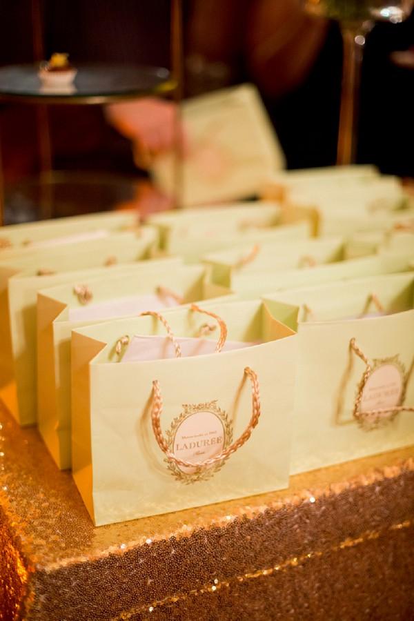 Laduree wedding favours
