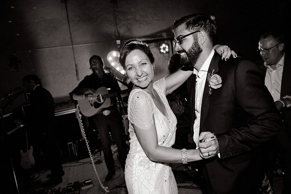 Live band wedding reception France