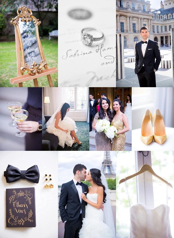 Luxury Destination Wedding in Paris Snapshot