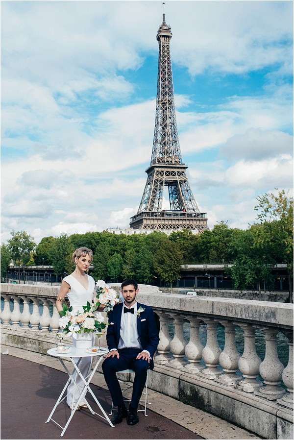 Paris Wedding Inspiration Shoot