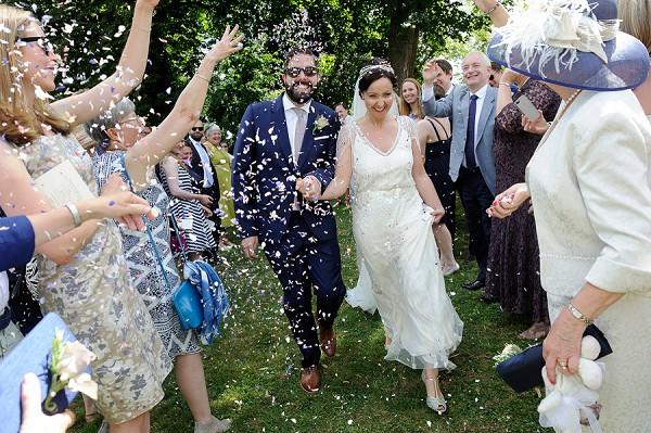 Poitou region real wedding