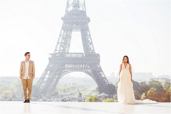 Pre Wedding romantic photos in Paris