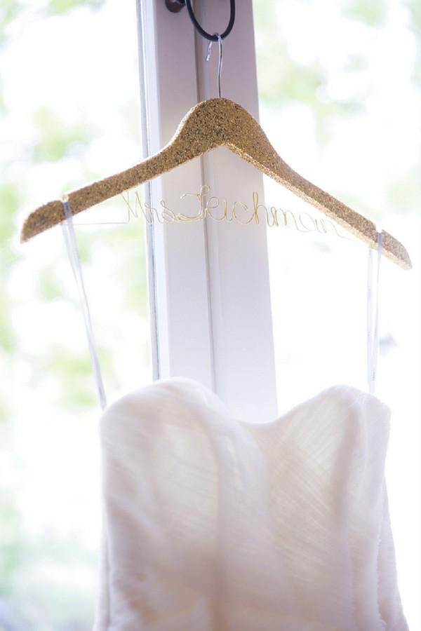 Pretty bridal hanger ideas