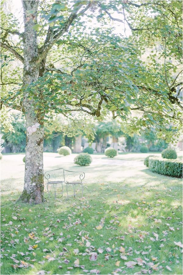 Pretty elegant garden wedding