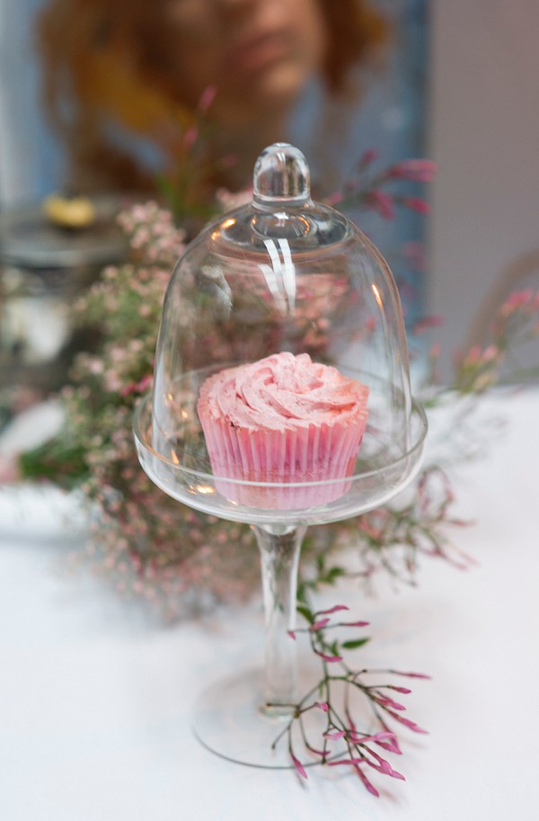 Pretty pink wedding details