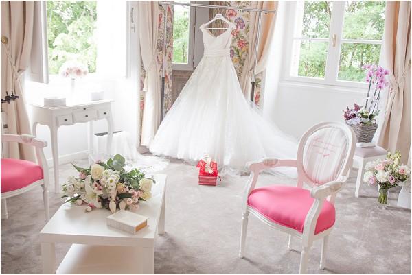 Princess bridal preparations