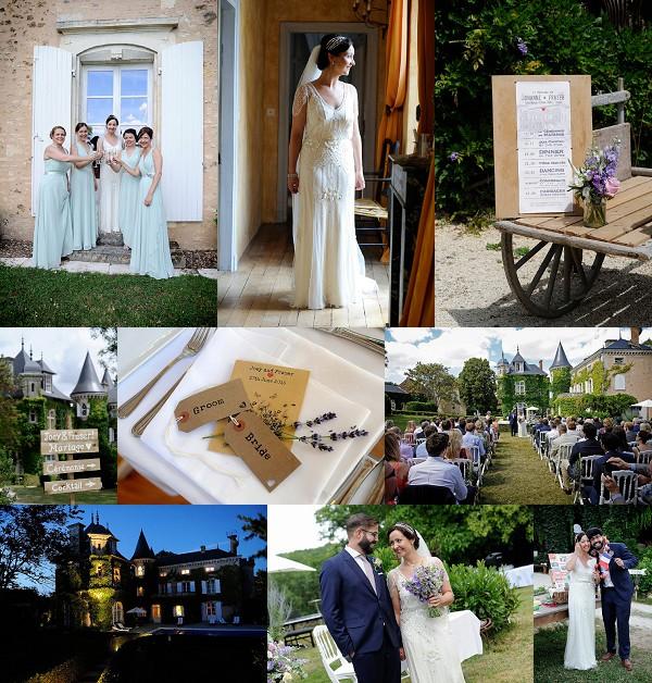 Rustic wedding at Saint Victor La Grand Maison Snapshot