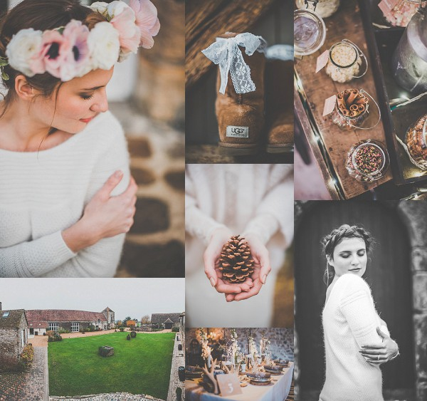 Rustic yet Chic Winter Wedding Ideas Snapshot
