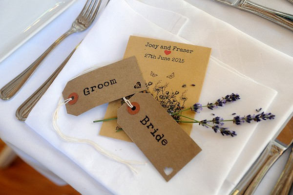 Simple DIY place setting ideas