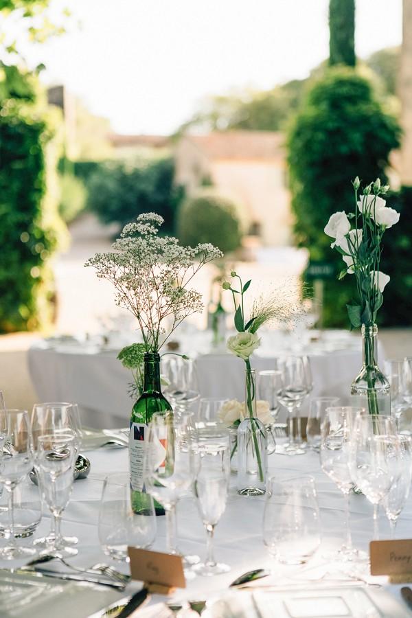 Simple Vineyard Inspired Wedding Decor