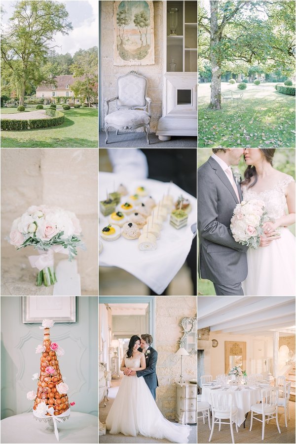 INTIMATE WEDDING AT CHATEAU FORGE DU ROY