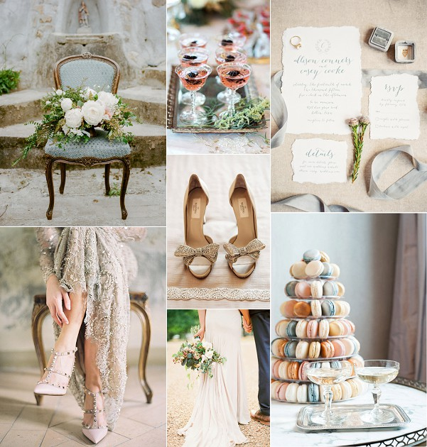Wedding Ideas And Inspirations: Timeless French Elegance Wedding Inspiration