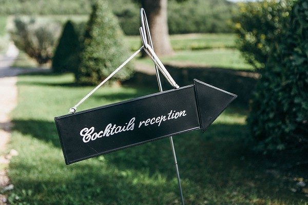 Wedding cocktail reception