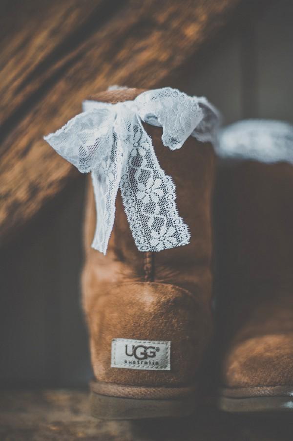 Wedding ugg boots