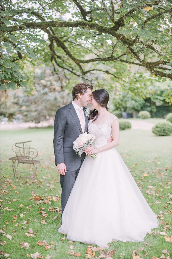 bride and groom intimate portraits