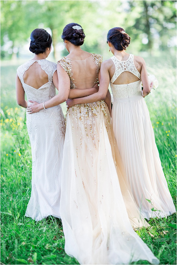 cut out back to bridesmaid dresses