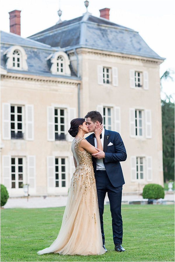destination wedding at Chateau in France