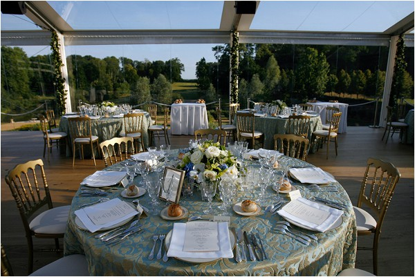 grand Chateau wedding styling