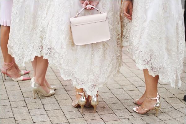 lace bridesmaids skirts