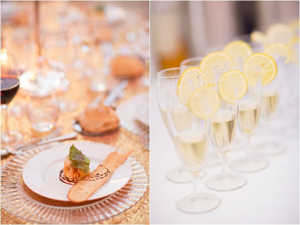 luxury wedding food ideas