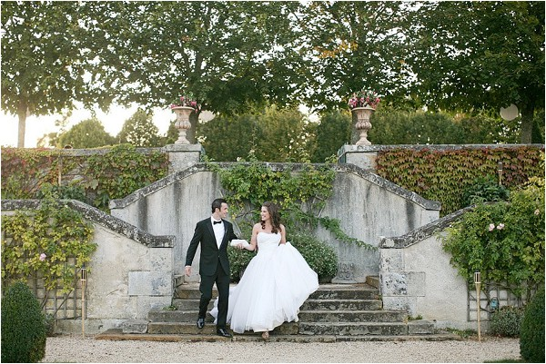 real wedding Château du Grand Lucé