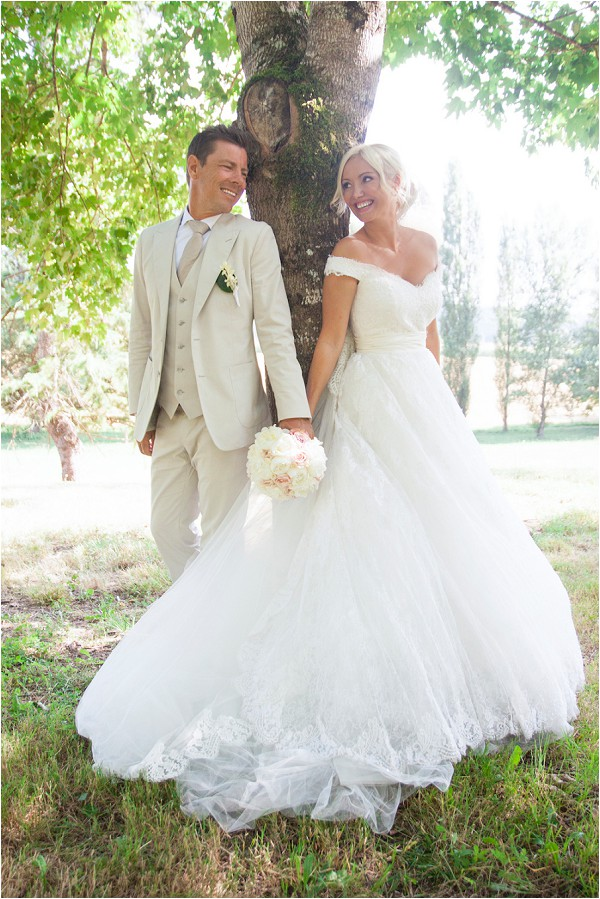 romantic wedding Dordogne France