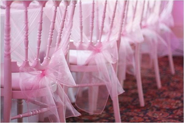 soft pink wedding style idea
