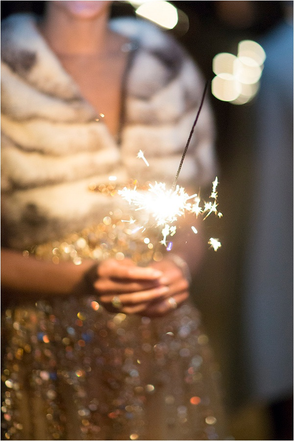 sparklers at weddings