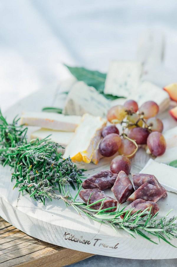 wedding picnic 'à la bohème'