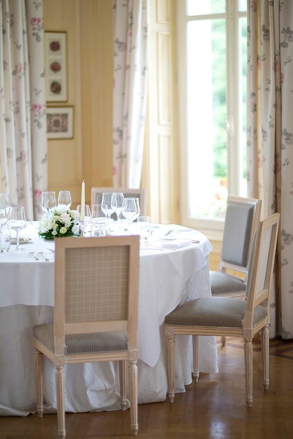 Beautiful Chateau Wedding Reception