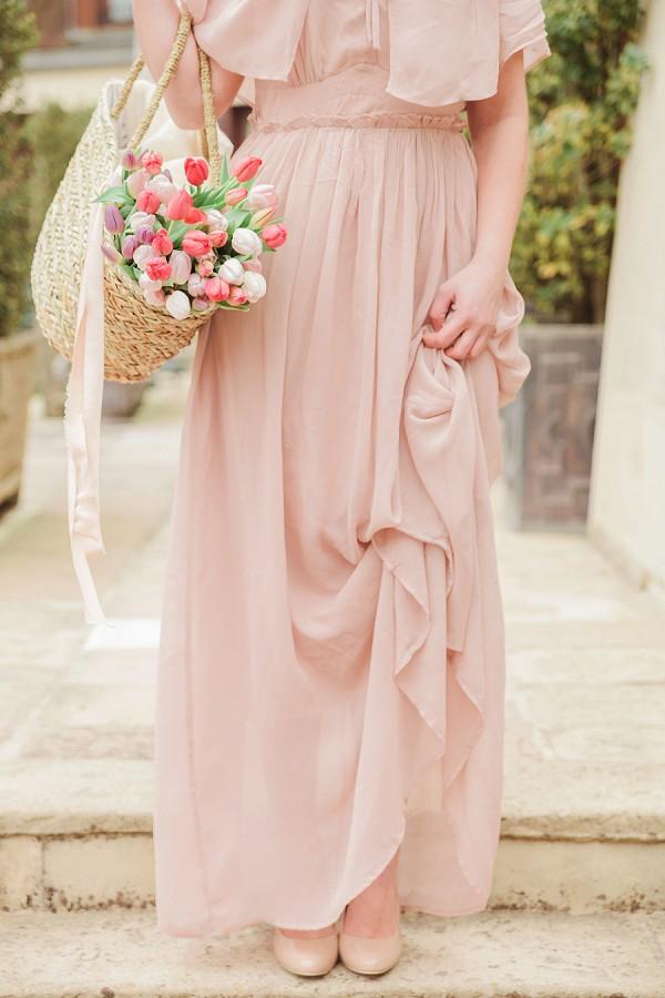 Blush and nude wedding theme