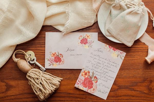 Bridal Love Letter