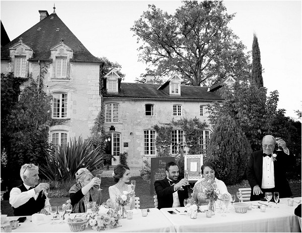 Chateau wedding reception ideas