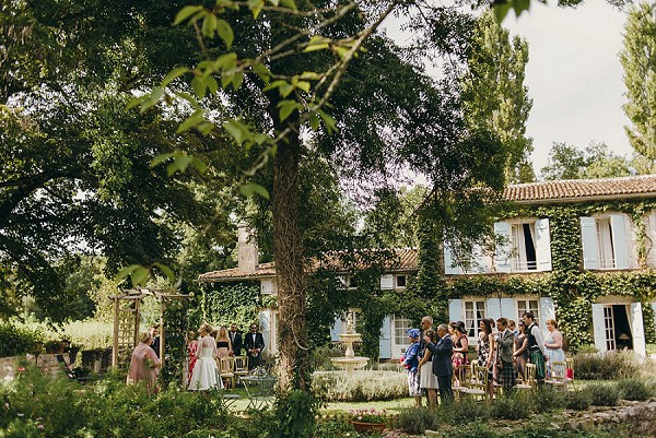 Countryside garden wedding