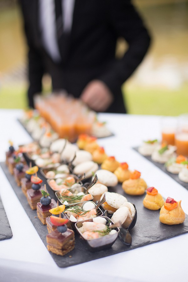 Delicious French Wedding Canapes