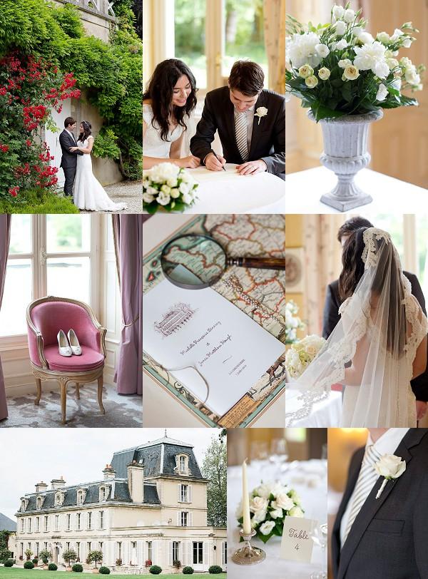 Elegant Chateau La Cheneviere Wedding Snapshot