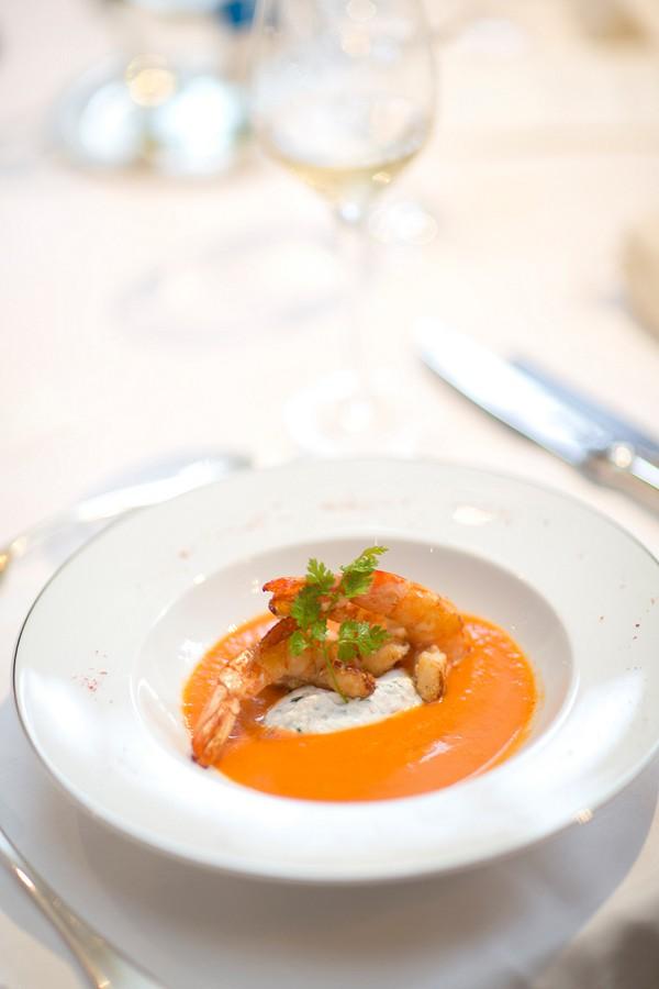 Elegant Chateau Wedding Evening Meal