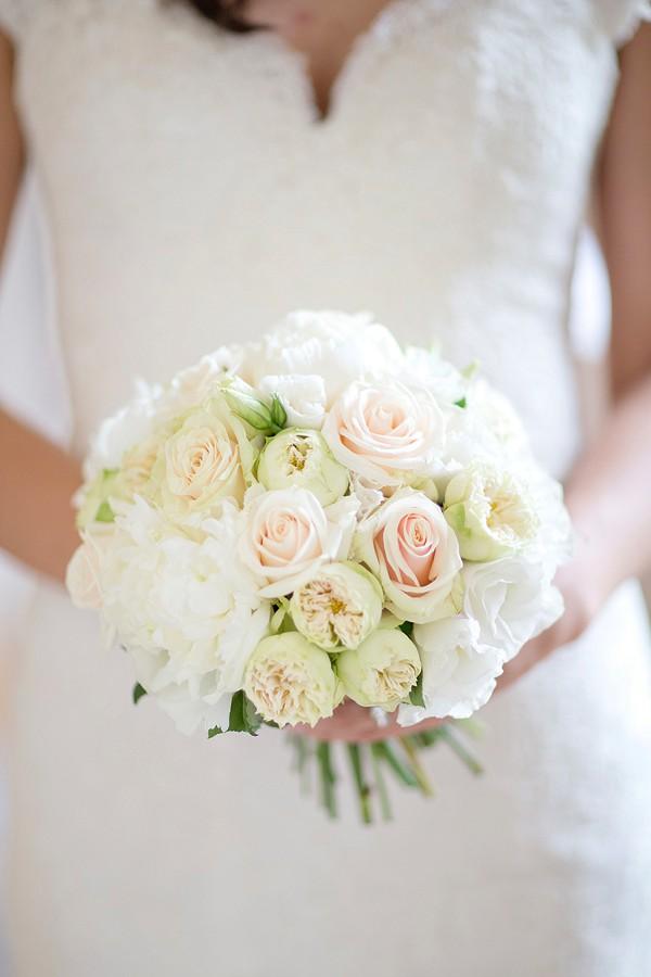 Elegant Rose Bridal Bouquet