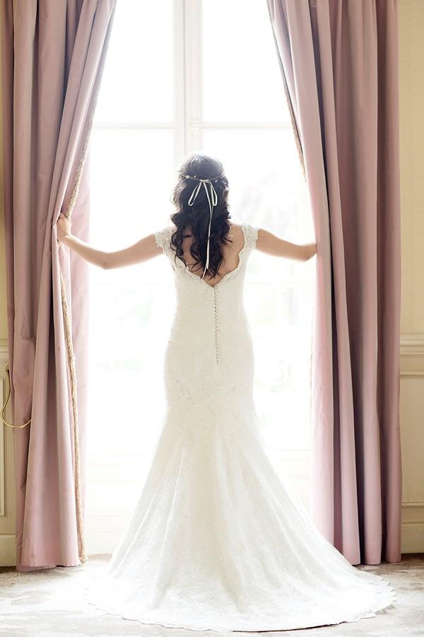 Elegant wedidng gown