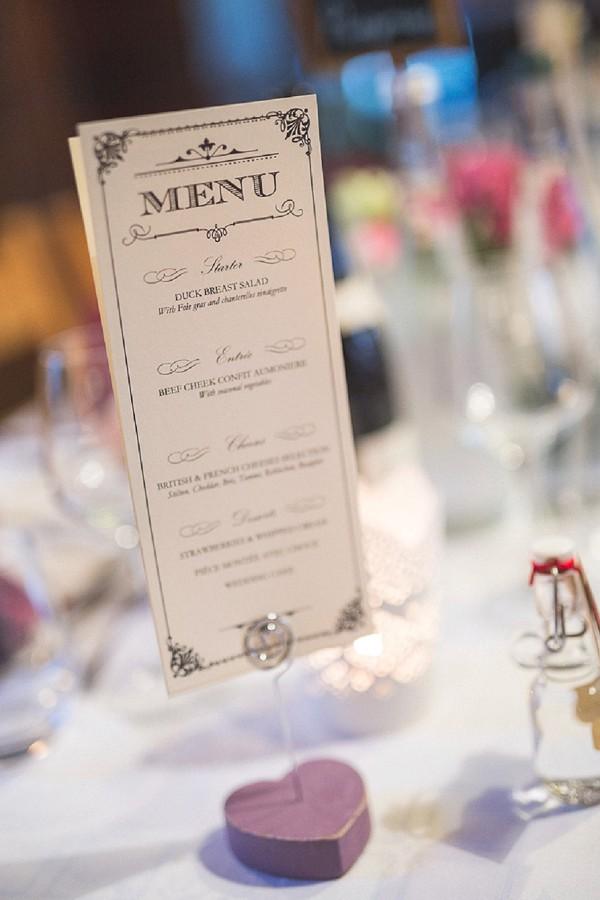 French Wedding Menu Ideas