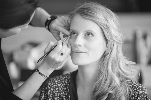 Natural look wedding day make-up